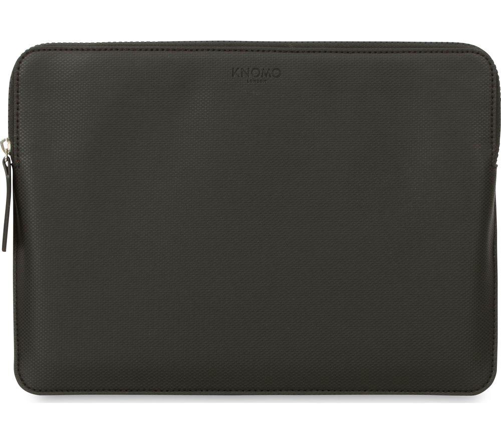 """KNOMO Embossed 13"""" Laptop Sleeve - Black"""