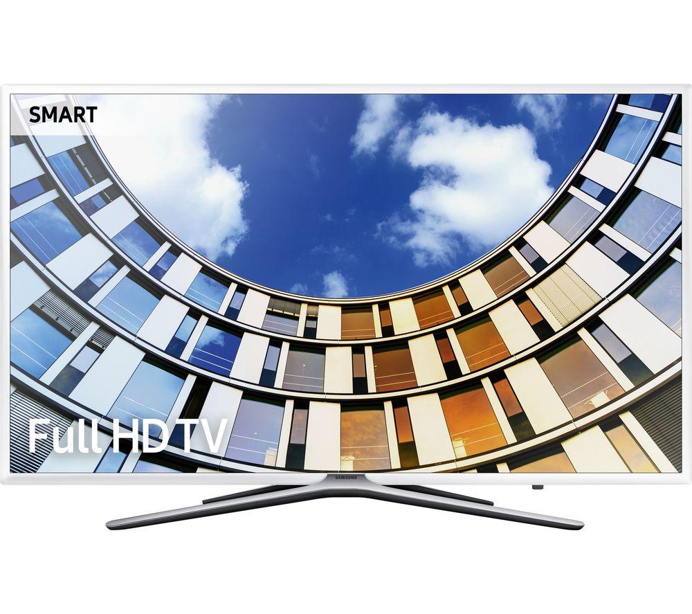 "Image of 49"" SAMSUNG UE49M5510 Smart LED TV - White, White"