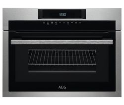 AEG KME761000M Built-in Combination Microwave - Stainless Steel