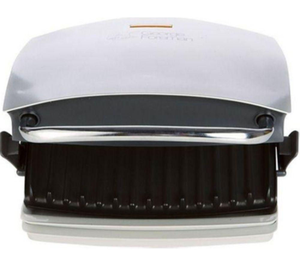 GEORGE FOREMAN  14181 Family Grill and Melt Health Grill  Silver Silver
