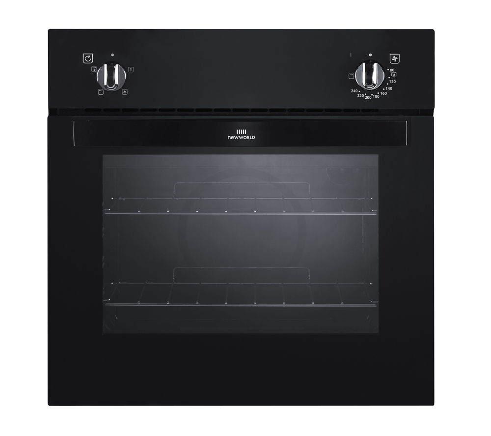 NEW WORLD NW601F Electric Oven - Black