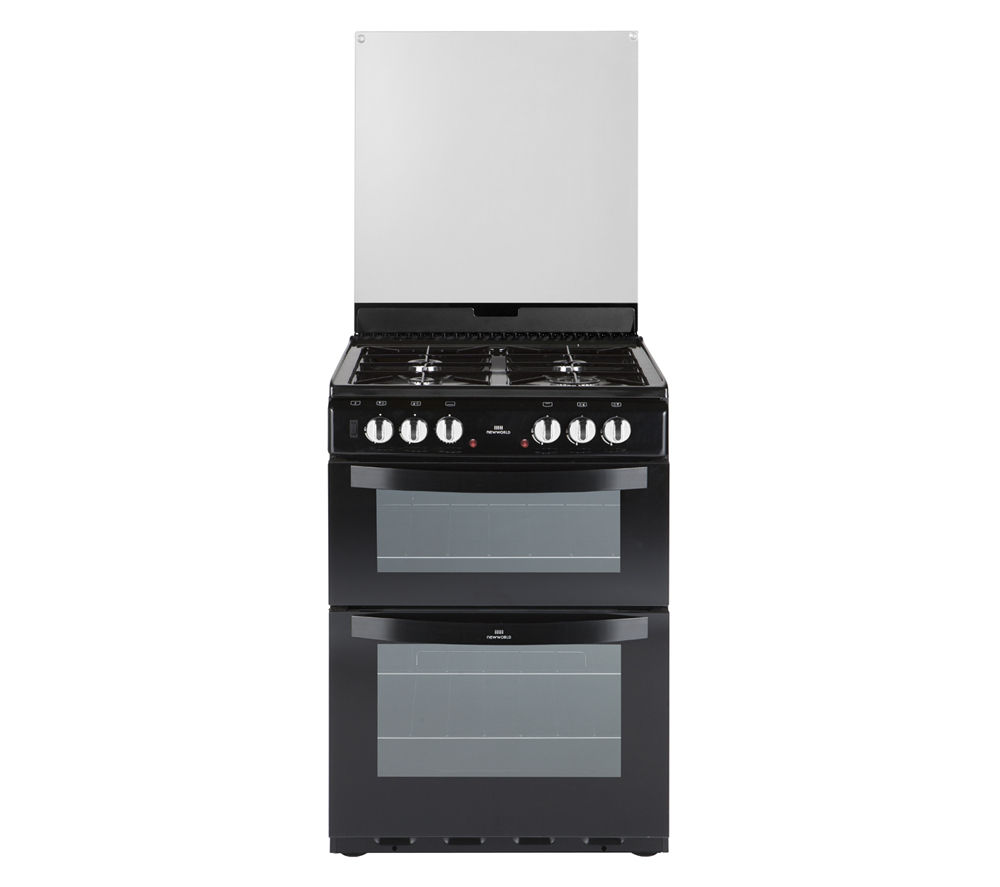 NEW WORLD 601DFDOL Dual Fuel Cooker - Black