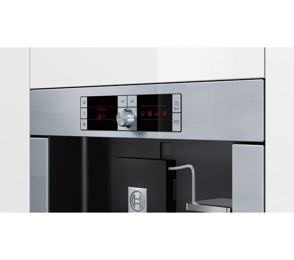 Bosch Coffee Maker Built In : Built-in coffee machines - Cheap Built-in coffee machines Deals Currys