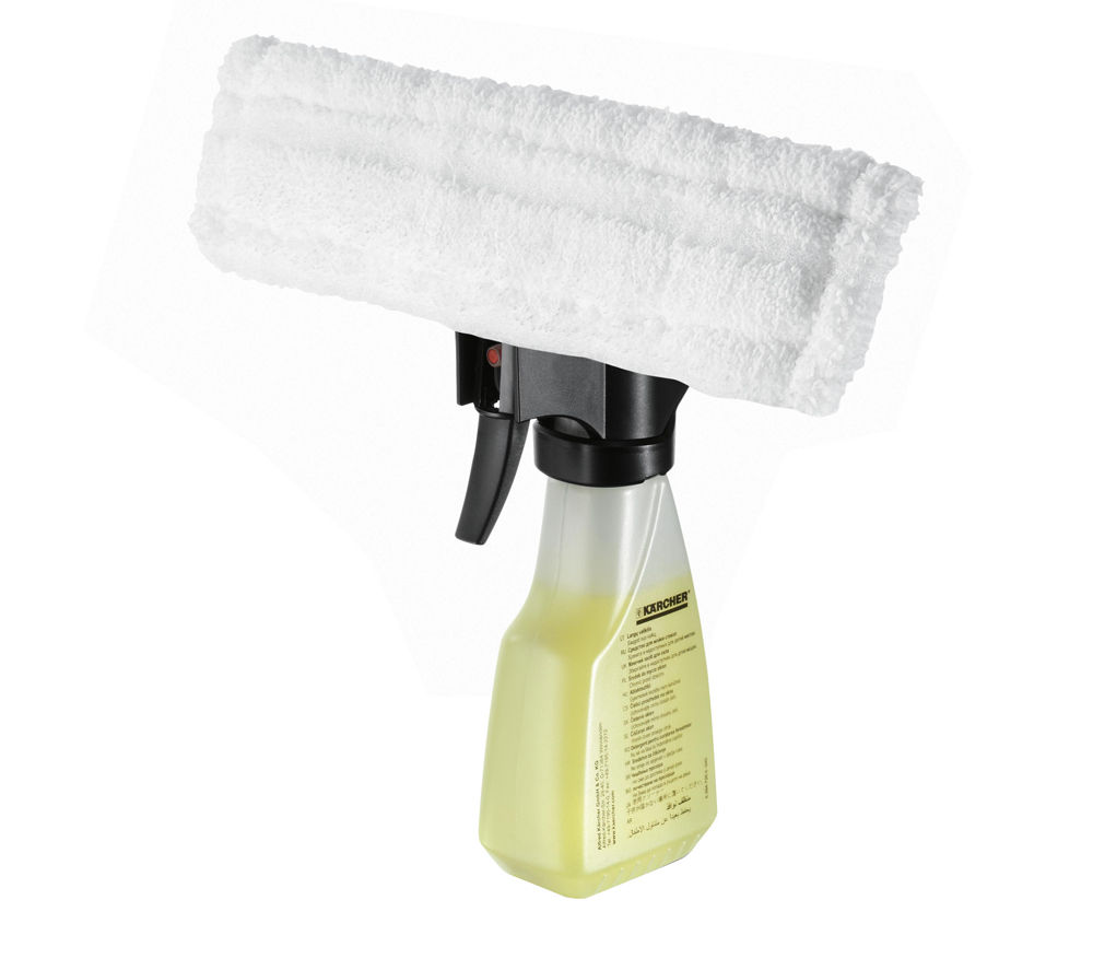 KARCHER Spray Bottle with Microfibre Head