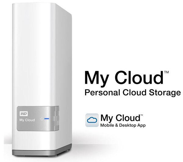 My Cloud Personal Wireless External Hard Drive - 3 TB, White