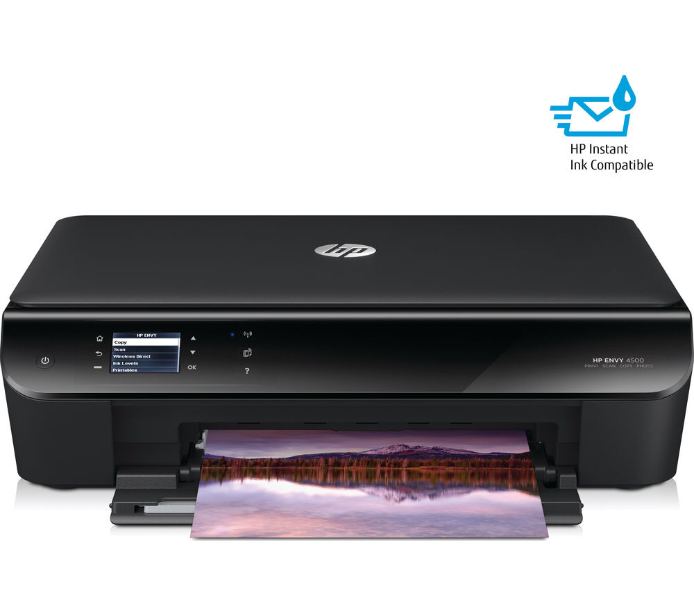 hp envy 4500 all in one wireless inkjet printer. Black Bedroom Furniture Sets. Home Design Ideas