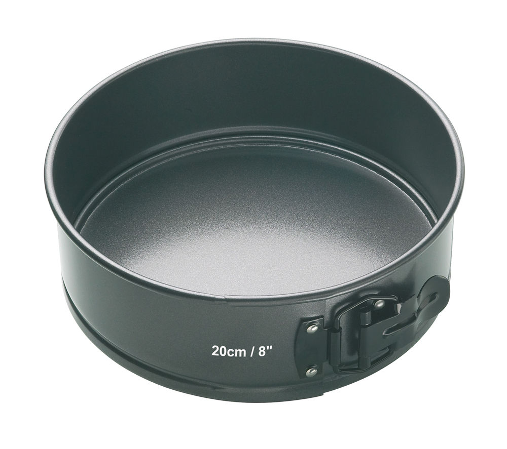 MASTER CLASS 20 cm Non-stick Round Cake Pan - Black