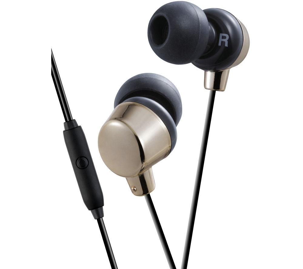 JVC HA-FR41-N-E Headphones - Gold