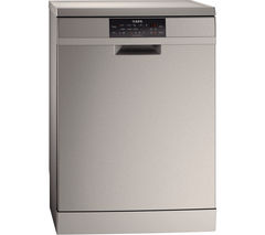 AEG F88709M0P Full-Size Dishwasher - Stainless Steel
