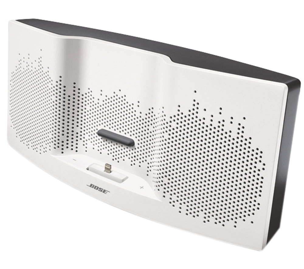 Click to view more of BOSE  SoundDock XT Speaker Dock - with Apple Lightning Connector, White