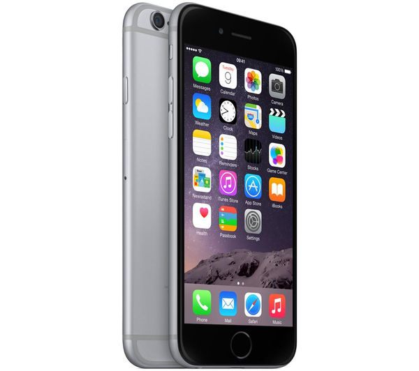 buy apple iphone 6 16 gb space grey free delivery currys. Black Bedroom Furniture Sets. Home Design Ideas