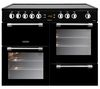 LEISURE Cookmaster CK100C210 Electric Ceramic Range Cooker - Black