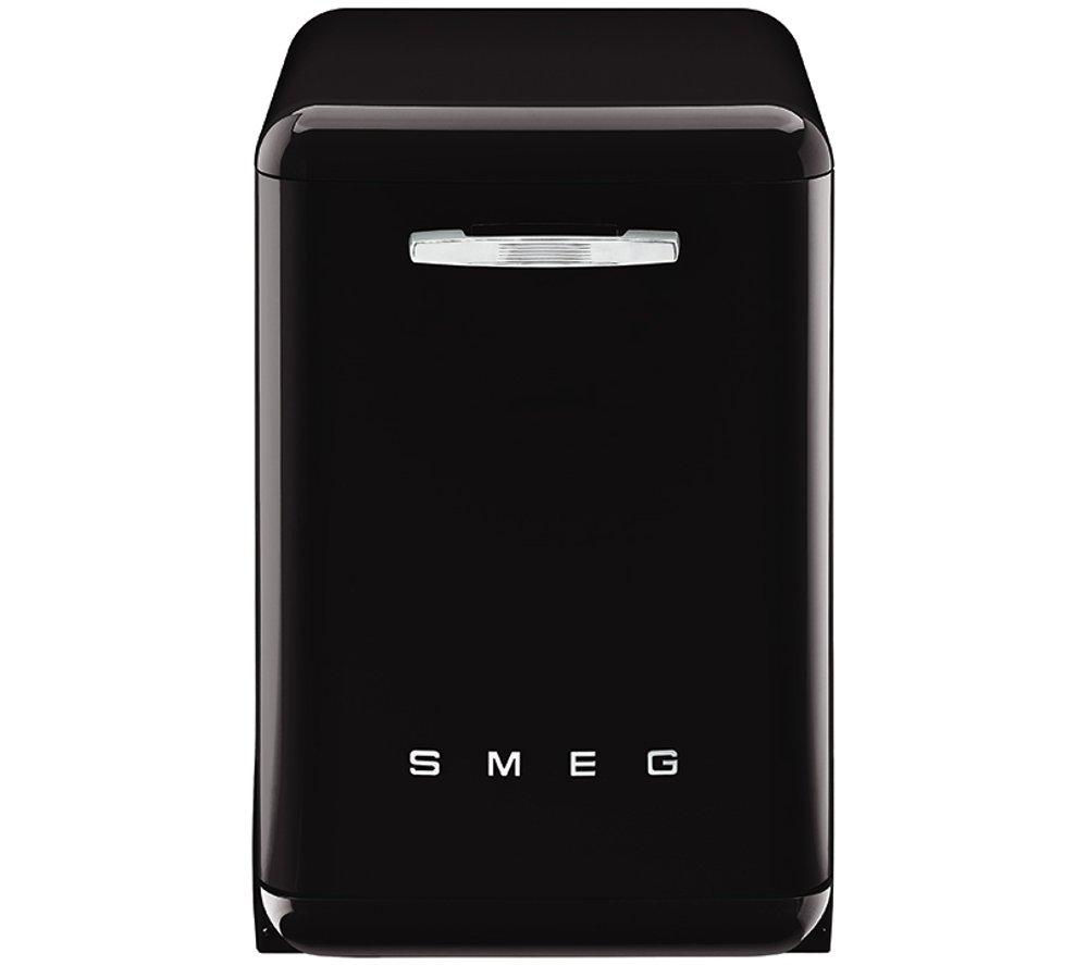 Image of Smeg DF6FABNE2 Full-size Dishwasher - Black, Black