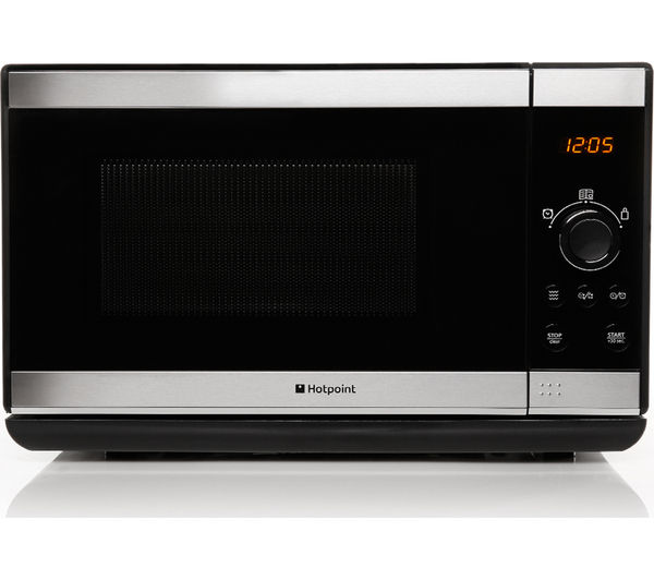 Hotpoint MWH2021XUK Solo Microwave  Stainless Steel Stainless Steel