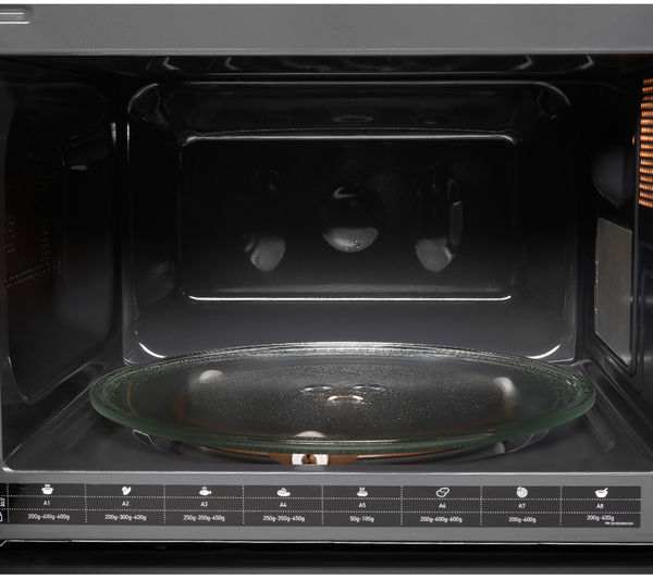 Buy hotpoint mwh2021xuk solo microwave stainless steel Microwave with stainless steel interior