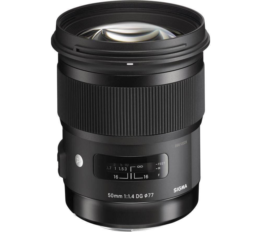 SIGMA 50 mm f/1.4 DG HSM A Standard Prime Lens - for Canon