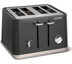 MORPHY RICHARDS Aspect 240004 4-Slice Toaster - Titanium