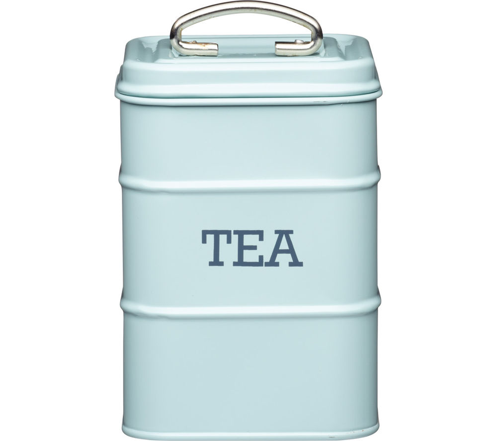 KITCHEN CRAFT Living Nostalgia Vintage Tea Canister - Blue