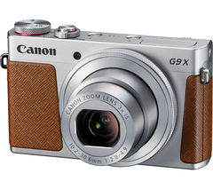 CANON PowerShot G9 X High Performance Compact Camera - Silver