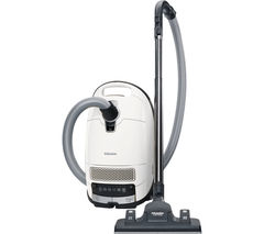 MIELE Complete C3 Silence EcoLine Cylinder Vacuum Cleaner - Lotus White