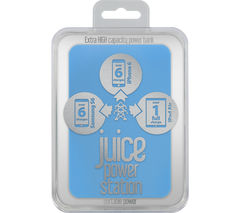 JUICE Power Station Portable Power Bank - Blue