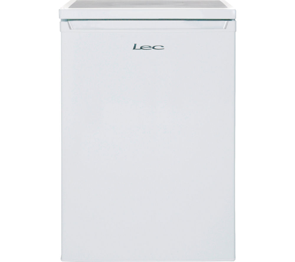 LEC L6014W Undercounter Fridge - White