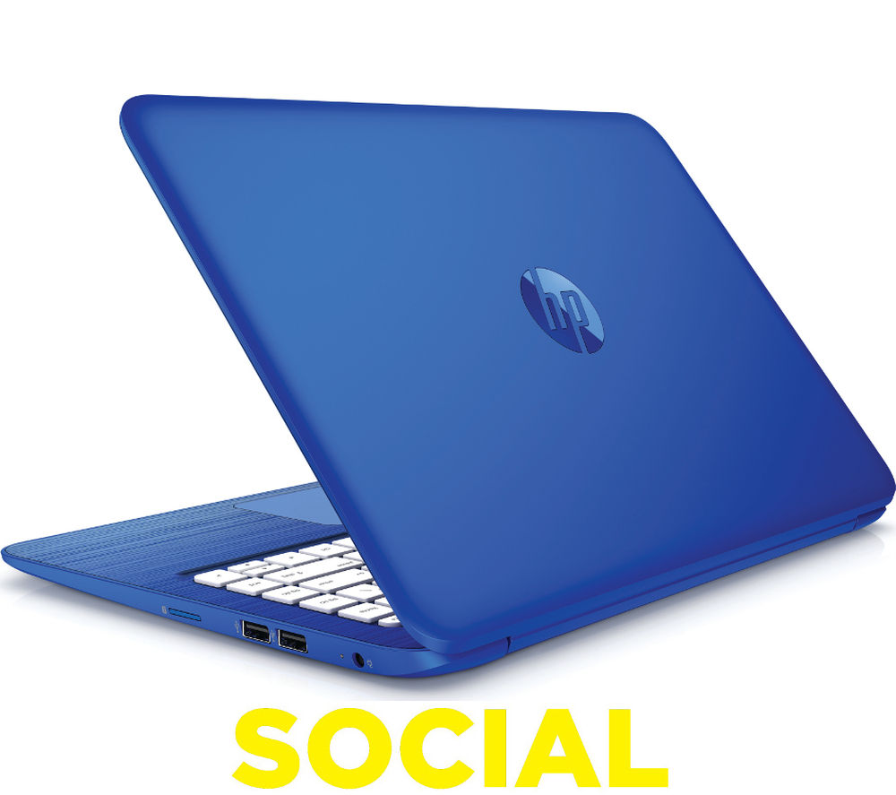"Image of HP Stream 13-c150sa 13.3"" Laptop - Blue"