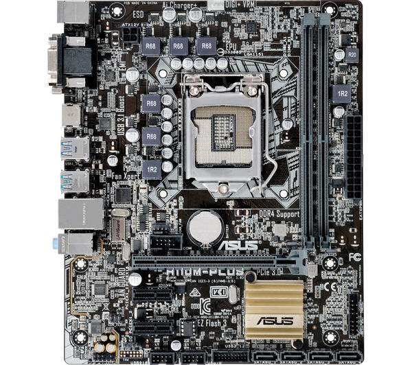 ASUS H110M-PLUS M-ATX Motherboard Deals | PC World