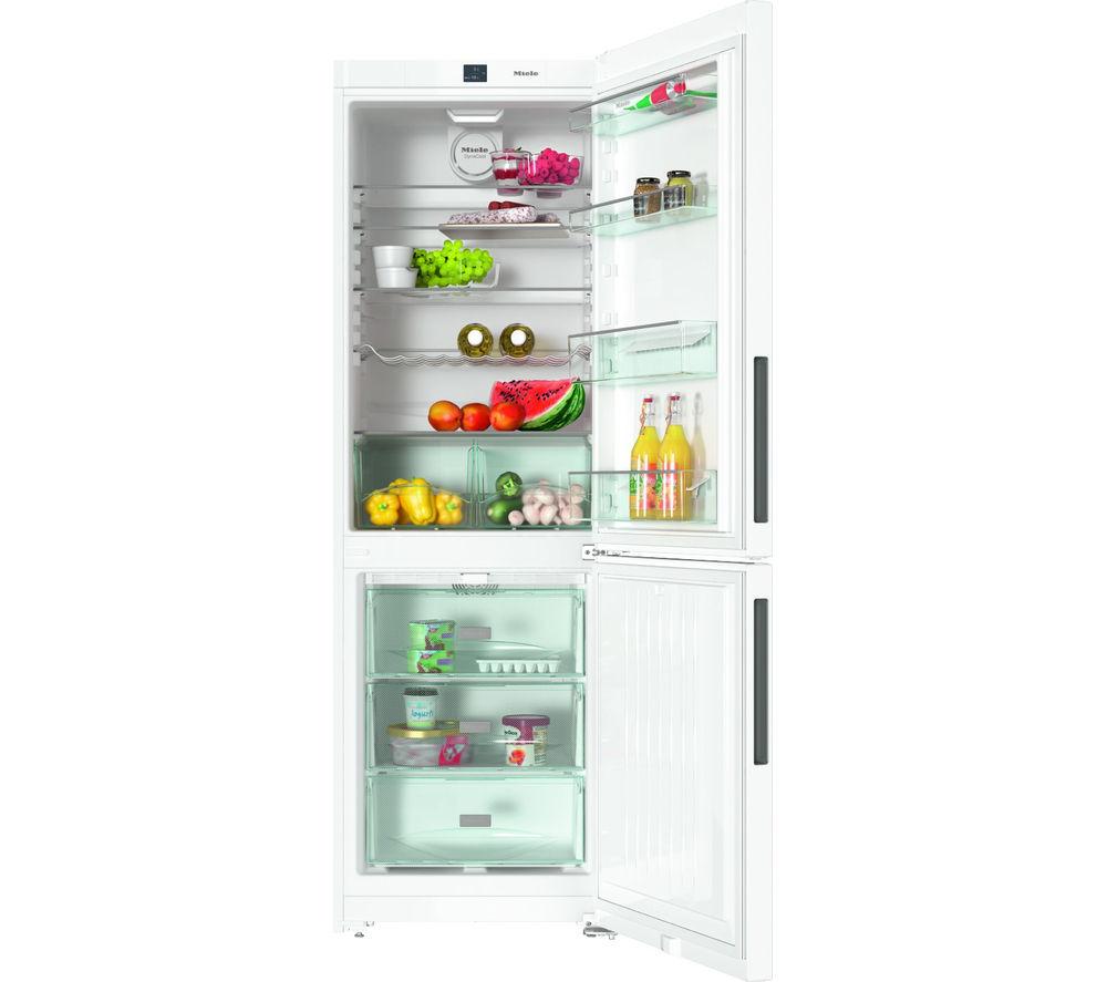 Image of MIELE KFN28032D Fridge Freezer - White, White