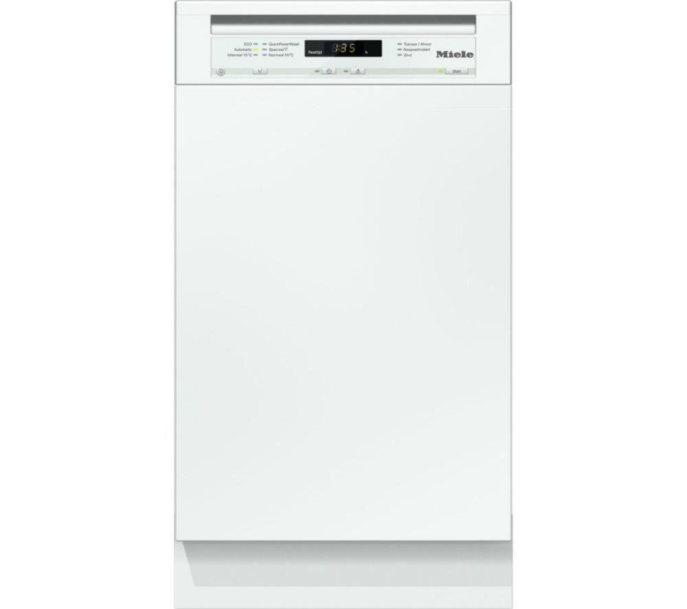 Miele G4720SCI Slimline SemiIntegrated Dishwasher