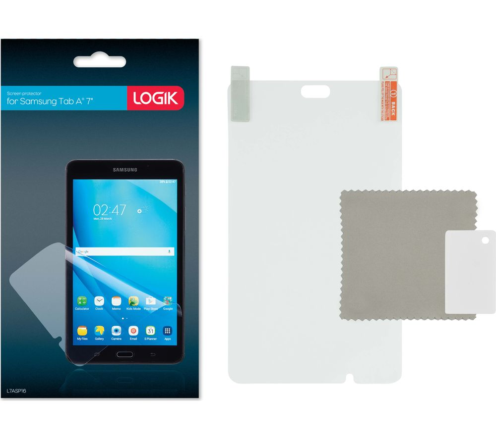"LOGIK Samsung Galaxy Tab A 7"" Screen Protector"