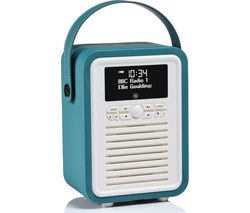 VQ Retro Mini -MINI-TL Portable Bluetooth DAB+/FM Radio - Teal