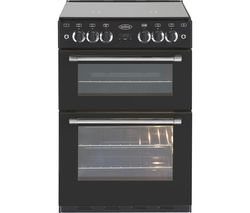 BELLING Classic 60 cm Gas Cooker - Black