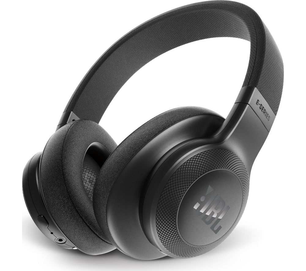 Click to view more of JBL  E55BT Wireless Bluetooth Headphones - Black, Black