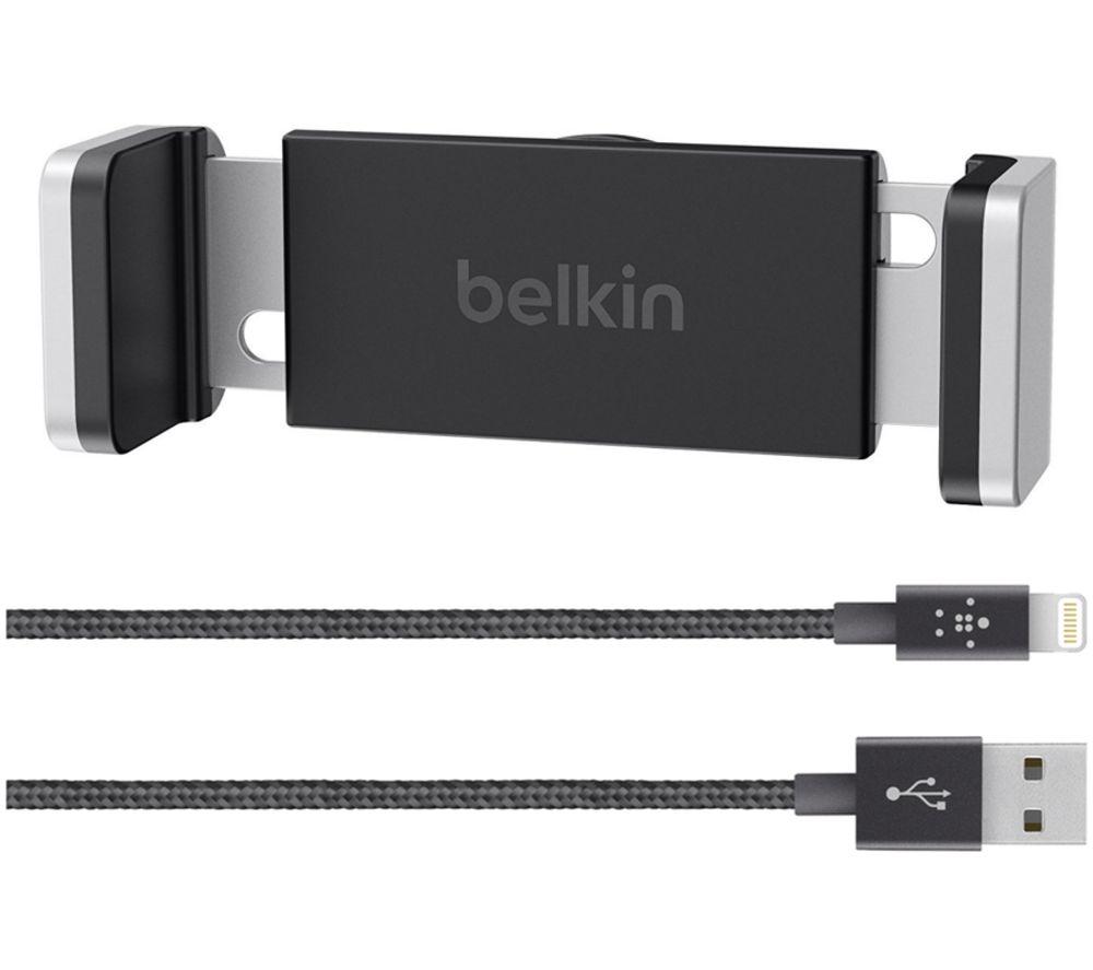 BELKIN F5Z0607uk Vent Mount & Lightning Cable Bundle