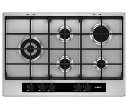 AEG HG755550SY Gas Hob - Stainless Steel