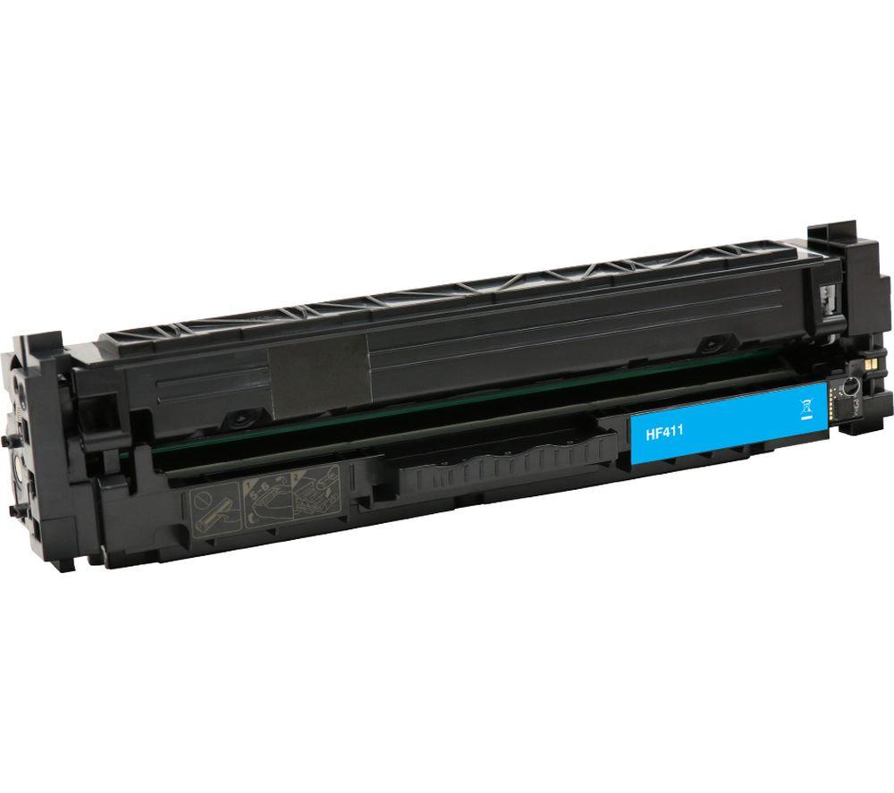 ESSENTIALS Remanufactured CF411A Cyan HP Toner Cartridge