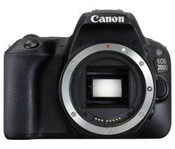 CANON EOS 200D DSLR Camera - Black, Body Only