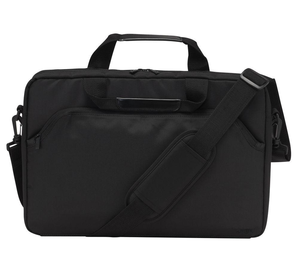 """Image of Logik L15LBK11 15.6"""" Laptop Case - Black, Black"""