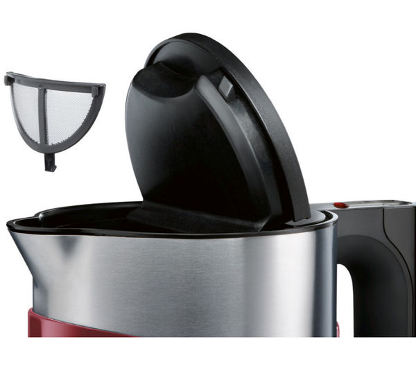 buy bosch styline sensor twk86104gb jug kettle cranberry. Black Bedroom Furniture Sets. Home Design Ideas