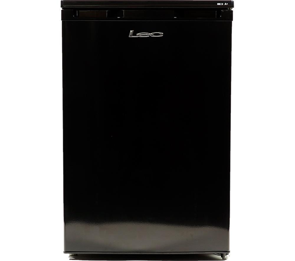 LEC U5511B Undercounter Freezer - Black
