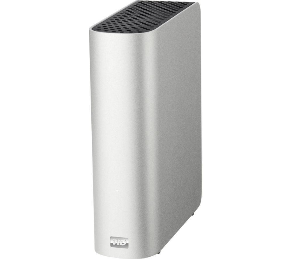 WD My Book Studio External Hard Drive for Mac - 4 TB, Silver