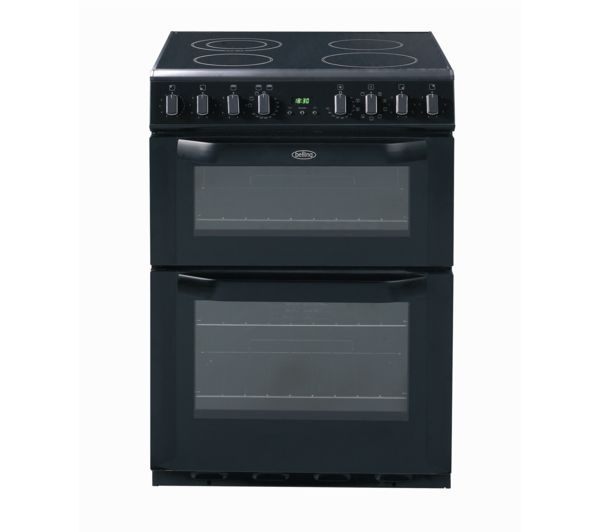 Belling FSE60MF Electric Ceramic Cooker - Black, Black