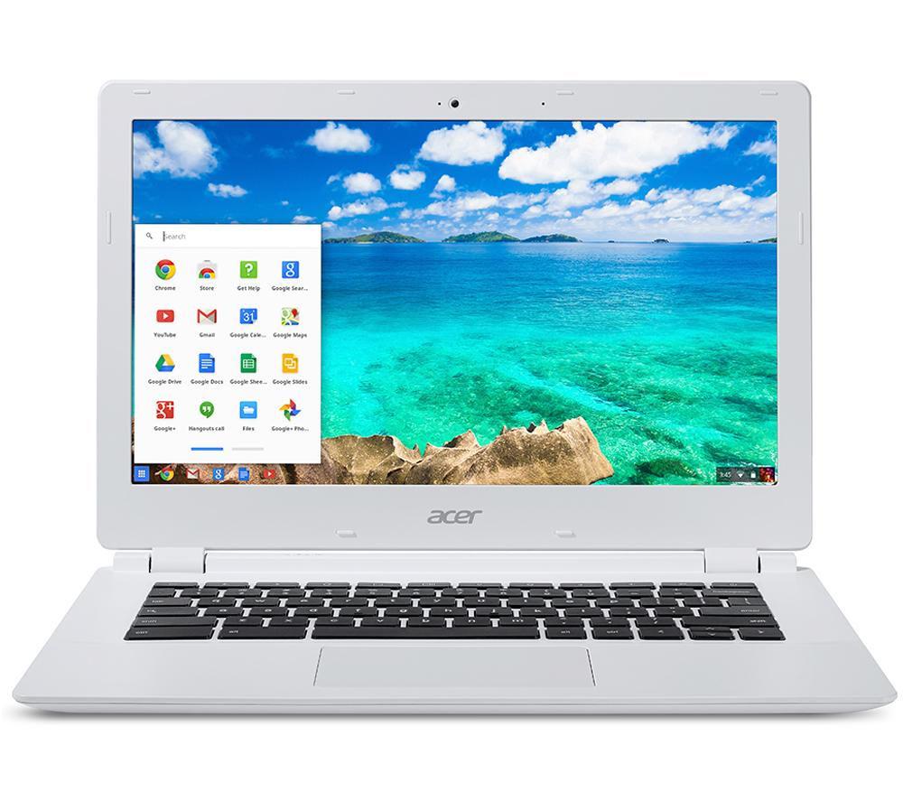 """ACER  CB5-311 13.3"""" Chromebook - White +  Chromecast"""