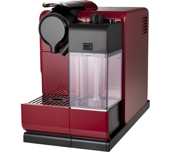 Buy nespresso by de 39 longhi lattissima touch en550 r coffee machine red - Machine nespresso 2 tasses ...