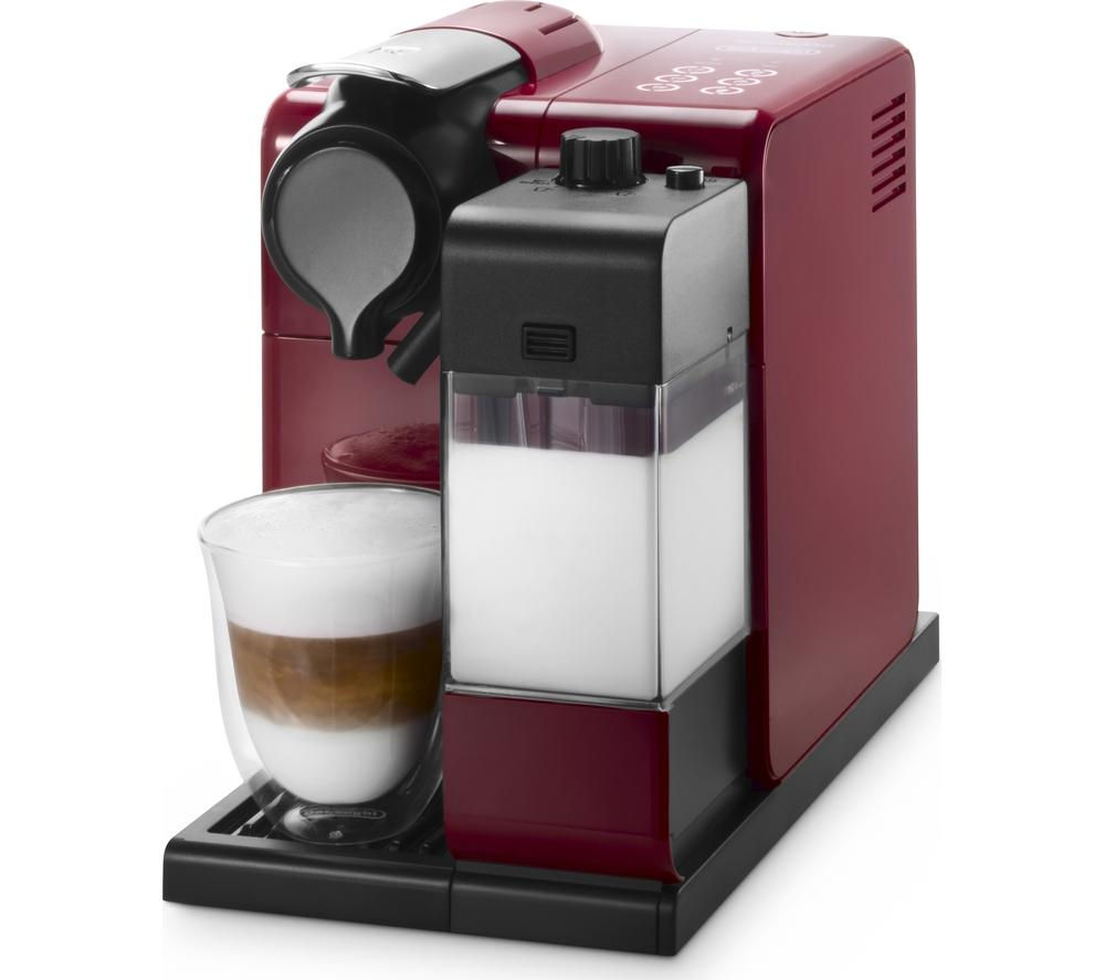 NESPRESSO by De'Longhi Lattissima Touch EN550.R Coffee Machine - Red