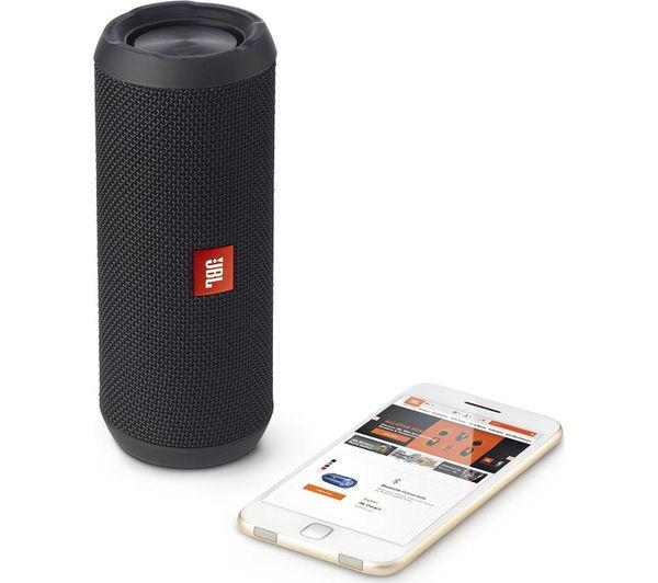 Image of JBL Flip 3 Portable Wireless Speaker - Black