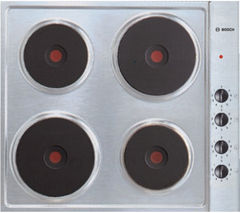 BOSCH NCT615C01 Electric Solid Plate Hob - Stainless Steel