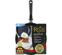 JML Regis Stone 28 cm Non-stick Frying Pan - Black & Grey