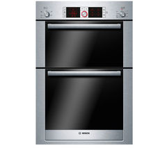 BOSCH Logixx HBM56B551B Electric Double Oven - Stainless Steel